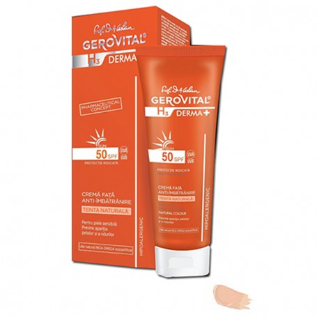 Crema antiedad SPF 10 Natural