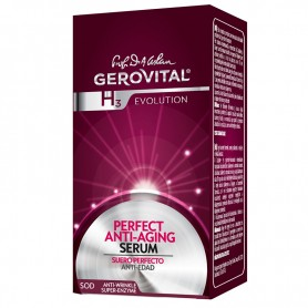 Gerovital H3 E Suero perfecto anti-edad evolution